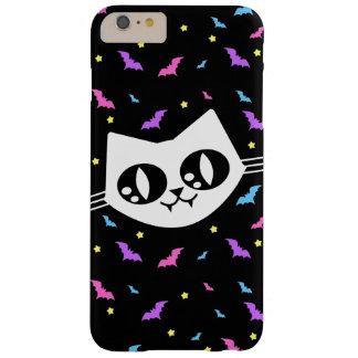 Maúllan los palos del gato de Kawaii de la onda Funda Para iPhone 6 Plus Barely There