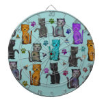 Maullido de los gatos tabla dardos