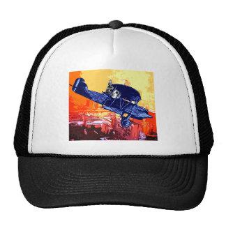 Maullido del combatiente gorras de camionero