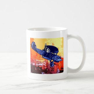 Maullido del combatiente taza de café