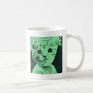 Maullido galón taza de café