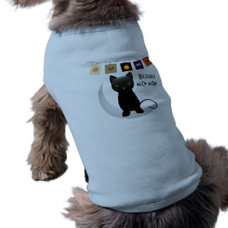 Maullido mullido grande del maullido, ropa del mas playera sin mangas para perro