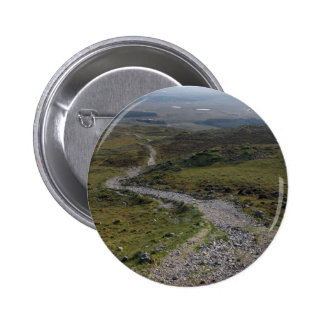Maum Ean Trail In The Inagh Valley Ireland Pinback Button