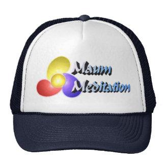 Maum Meditation Ball Cap Trucker Hat