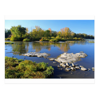 Maumee River at Providence Postcard