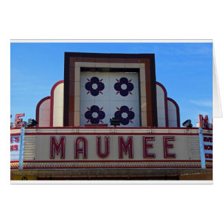 Maumee Theatre Marquee Card