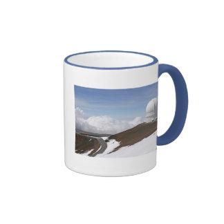 Mauna Kea Observatory Ringer Coffee Mug