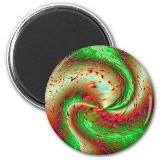 Mauna Loa 2 Inch Round Magnet
