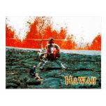 Mauna Loa eruption, Hawaii Volcanoes National Park Postcard