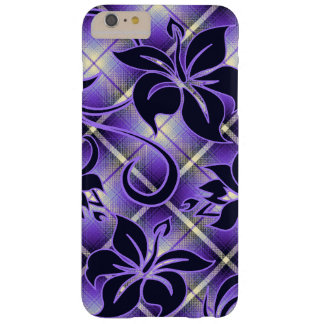 Mauna Loa Hawaiian Hibiscus Plaid Barely There iPhone 6 Plus Case