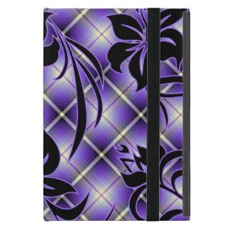 Mauna Loa Hawaiian Hibiscus Plaid Cover For iPad Mini