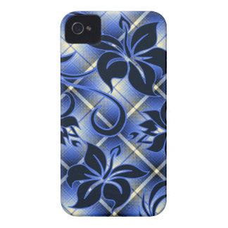 Mauna Loa Hawaiian Hibiscus Plaid iPhone 4 Cover