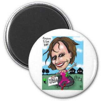 Maureen Fifer 2 Inch Round Magnet
