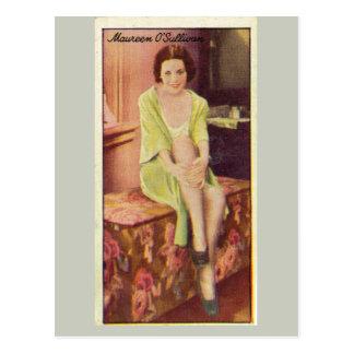 Maureen O'Sullivan Postcard