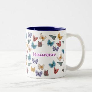 Maureen Two-Tone Coffee Mug