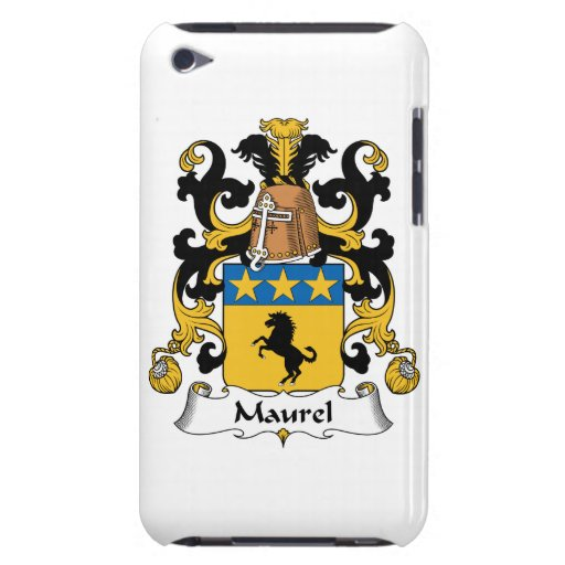 Maurel Family Crest Barely There iPod Cases