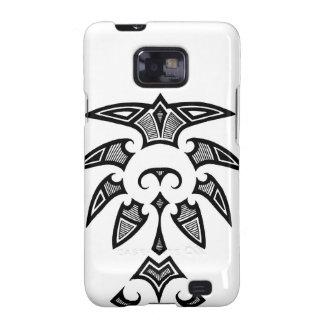 Mauri tribal tattoo with koru patterns galaxy SII covers