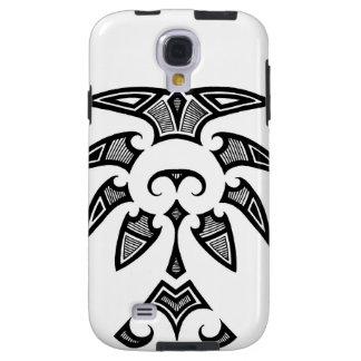 Mauri tribal tattoo with koru patterns galaxy s4 case