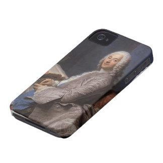 Maurice de La Tour- Portrait of Duval de l'Epinoy Case-Mate iPhone 4 Case