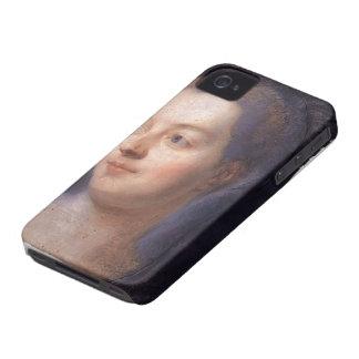 Maurice de La Tour- Portrait of Madame Pompadour Case-Mate iPhone 4 Case