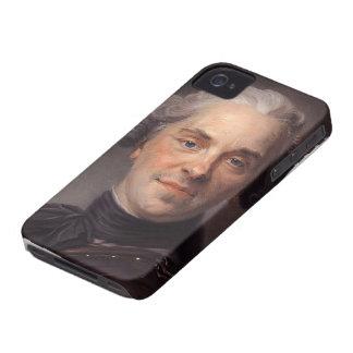Maurice de La Tour- Portrait of Maurice of Saxony iPhone 4 Case