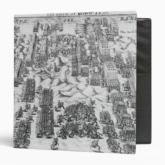 Maurice defeats Austrians at Battle of Nieuport Binder