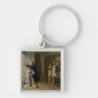 Maurice Gigost d'Elbee  Protecting Keychain