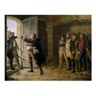 Maurice Gigost d'Elbee  Protecting Postcard