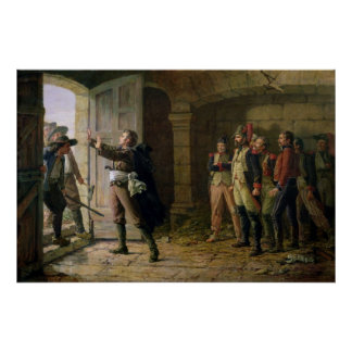 Maurice Gigost d'Elbee  Protecting Poster