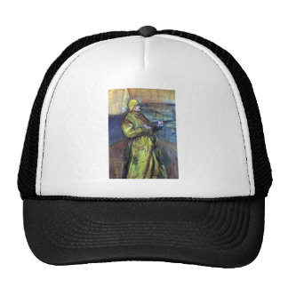 Maurice Joyant at the Bay Somme - Toulouse-Lautrec Hat