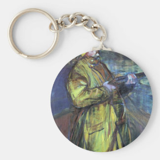Maurice Joyant at the Bay Somme - Toulouse-Lautrec Key Chain