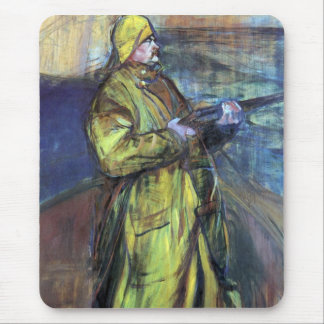 Maurice Joyant at the Bay Somme - Toulouse-Lautrec Mousepads