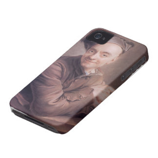 Maurice  La Tour-Self-Portrait with the bull's-eye iPhone 4 Case-Mate Case