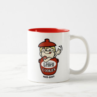 Maurice Lenell Cookies, Chicago, IL Two-Tone Coffee Mug