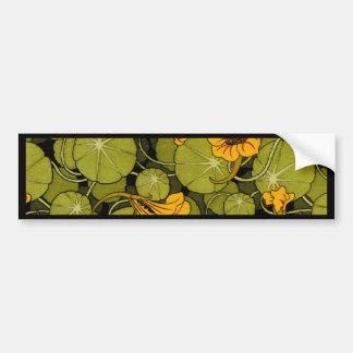 Maurice Pillard ( dit Verneuil ) Floral Art Nouvea Car Bumper Sticker