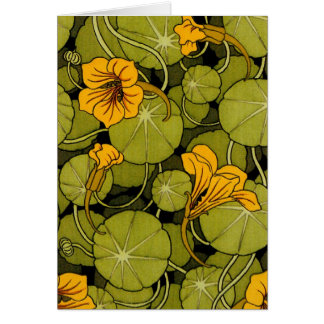 Maurice Pillard ( dit Verneuil ) Floral Art Nouvea Card