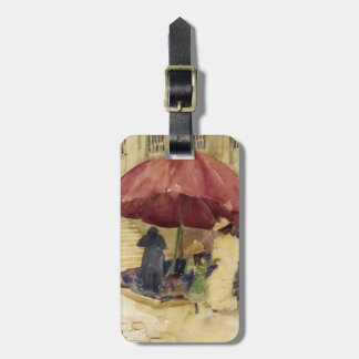 Maurice Prendergast- A Street in Rouen Luggage Tag