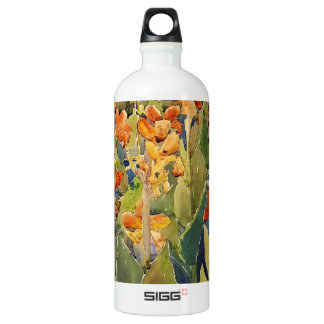 Maurice Prendergast Bed Of Flowers Aluminum Water Bottle
