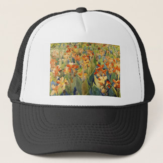 Maurice Prendergast Bed Of Flowers Trucker Hat