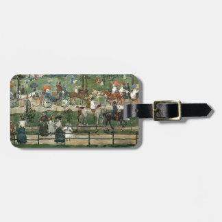 Maurice Prendergast- Central Park Travel Bag Tag