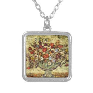 Maurice Prendergast- Floral Still Life Custom Necklace