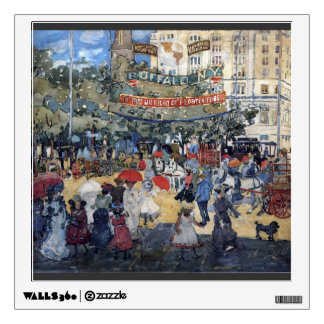 Maurice Prendergast- Madison Square Wall Decal
