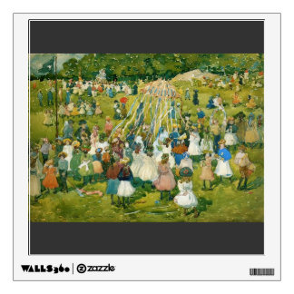 Maurice Prendergast- May Day, Central Park Room Stickers