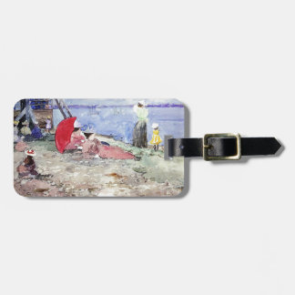 Maurice Prendergast- Revere Beach Tag For Bags