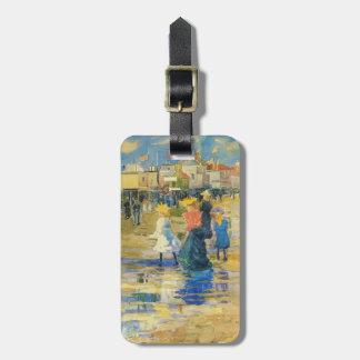 Maurice Prendergast- Revere Beach Luggage Tag