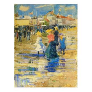 Maurice Prendergast- Revere Beach Postcard