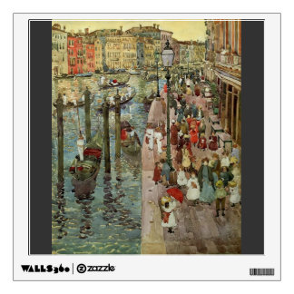 Maurice Prendergast- The Grand Canal, Venice Wall Skins