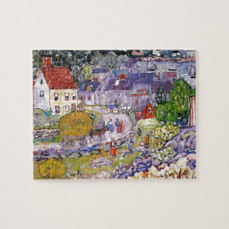 Maurice Prendergast- The Hay Cart Jigsaw Puzzles