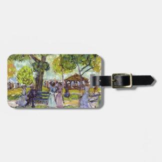 Maurice Prendergast- The Pavilion Travel Bag Tags
