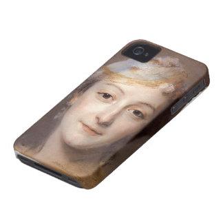 Maurice Quentin de La Tour- Portrait of Marie Fel Case-Mate iPhone 4 Case